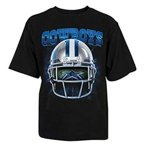 NFL Dallas Cowboys Vision Helmet Youth Tee Shirt